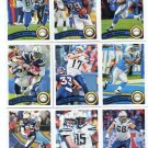 (11) San Diego CHARGERS 2011 Topps Team Lot NO DUPES