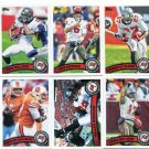 (6) Tampa Bay BUCCANEERS 2011 Topps Team Lot NO DUPES