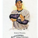 JORGE POSADA 2008 Topps Allen and Ginter A&G #164 New York NY Yankees