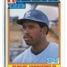 DAVE WINFIELD 1984 Topps Ralston Purina #7 New York NY Yankess