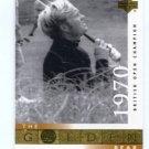 JACK NICKLAUS 2001 Upper Deck UD The Golden Bear 1970