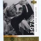 JACK NICKLAUS 2001 Upper Deck UD The Golden Bear 1978