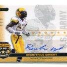 DEMETRIUS WRIGHT 2010 Razor Army All-American AUTO USC Trojans 4-star CB (Nationally Ranked #21)