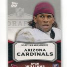 RYAN WILLIAMS 2011 Topps Rookie Rising #180 ROOKIE Arizona Cardinals VIRGINIA TECH Hokies