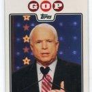 JOHN McCAIN 2008 Topps Campaign 08 GOP SP #C08-JM