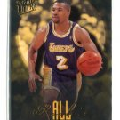 DEREK FISHER 1996-97 Fleer Ultra All-Rookie Team INSERT #6 ROOKIE Lakers