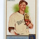UBALDO JIMENEZ 2011 Topps Allen and Ginter A&G #105 Rockies INDIANS