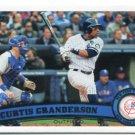 CURTIS GRANDERSON 2011 Topps Series 2 #433 New York NY Yankees