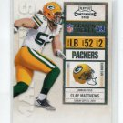 CLAY MATTHEWS 2010 Playoff Contenders #35 GB Packers USC TROJANS