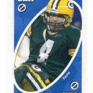 BRETT FAVRE 2007 Uno Card Game BLUE-Skip Green Bay GB Packers QB