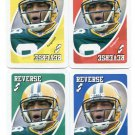 (4) ROBERT FERGUSON 2007 Uno Card Game Lot ALL 4 COLORS Green Bay GB Packers TEXAS A&M Aggies