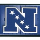 NATIONAL FOOTBALL CONFERENCE NFC Logo 2011 Panini Sticker #4