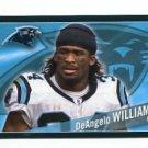 DeANGELO WILLIAMS 2011 Panini Sticker #357 Carolina Panthers