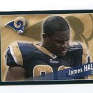 JAMES HALL 2011 Panini Sticker #421 St. Louis Rams