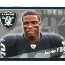 JACOBY FORD 2011 Panini Sticker #204 Raiders CLEMSON Tigers