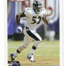 RAY LEWIS 2004 Topps FIRST EDITION SP #152 Ravens MIAMI CANES Hurricanes