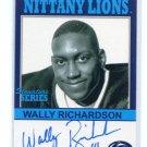 WALLY RICHARDSON 2006 TK Legacy AUTO Autograph PENN STATE QB