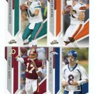 QUARTERBACK QB SALE: (4) 2009 Panini Playoff Absolute - Quinn, Pennington, Orton, Campbell