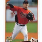 BRAD BERGESEN 2009 Topps Updates & Highlights #UH211 ROOKIE Orioles