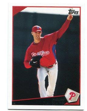 J.A. JA HAPP 2009 Topps Updates & Highlights #UH30 Philadelphia Phillies