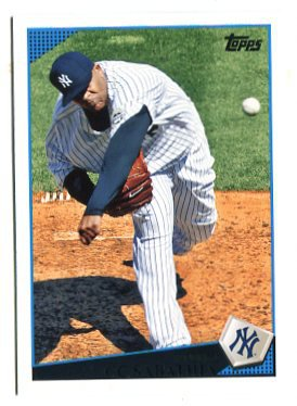 C.C. CC SABATHIA 2009 Topps Updates & Highlights #UH100 New York NY Yankees