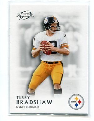 TERRY BRADSHAW 2011 Topps Gridiron Legends #60 Pittsburgh Steelers QB