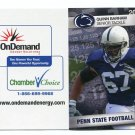 QUINN BARHAM 2011 Penn State Football Schedule FULL SIZED