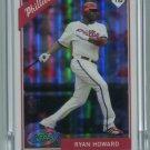RYAN HOWARD 2009 eTopps #41  -  CARD IN HAND  -  Phillies #d/999