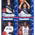 (4) COLEMAN / MASLEY / HOLLOWAY / DONOVAN 1993 Penn State Second Mile WOMENS BASKETBALL Lot
