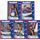 (5) Men's Gymnastics 1993 Penn State Second Mile Lot