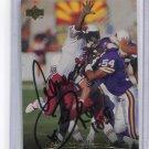 AENEAS WILLIAMS 1995 Upper Deck UD #227 AUTO Arizona Cardinals SOUTHERN UNIV. w/ COA