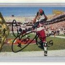 AENEAS WILLIAMS 1996 Pinnacle #69 AUTO Arizona Cardinals SOUTHERN UNIV. w/ COA
