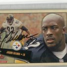 JASON GILDON 2001 Fleer Tradition Glossy #212 AUTO Steelers OKLAHOMA STATE Cowboys w/ COA