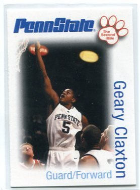 GEARY CLAXTON 2006 Penn State Second Mile BASKETBALL