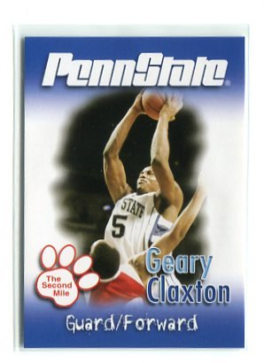GEARY CLAXTON 2007 Penn State Second Mile BASKETBALL