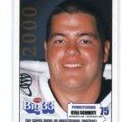 KYLE SCHMITT 2000 Big 33 Pennsylvania PA High School card MARLYAND Terps