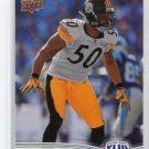 LARRY FOOTE 2009 Upper Deck UD Super Bowl 43 XLIII #22 Steelers MICHIGAN Wolverines