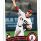PETER CHATWOOD 2011 Topps Update Series ROOKIE #US184 Angels