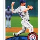 CLIFF LEE 2011 Topps #103 Rangers PHILLIES