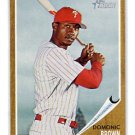 DOMONIC DOMINIC BROWN 2011 Topps Heritage #104 Philadelphia Phillies