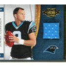 JIMMY CLAUSEN 2010 Panini Plates & Patches JERSEY Rookie NOTRE DAME IRISH Panthers QB #d/299