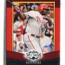 RYAN HOWARD 2011 Topps Triple Threads #52 Philadelphia Phillies #d/1500