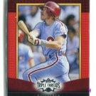 MIKE SCHMIDT 2011 Topps Triple Threads #52 Philadelphia Phillies #d/1500
