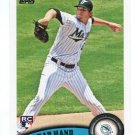 BRAD HAND 2011 Topps Update Series #US282 ROOKIE Mariners