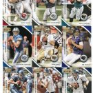 QUARTERBACK SALE:  (9) 2010 Panini Donruss Gridiron Gear QB lot