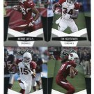 (4) Arizona CARDINALS 2010 Panini Leaf Certified Team Lot NO DUPES