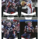 (4) Buffalo BILLS 2010 Panini Leaf Certified Team Lot NO DUPES