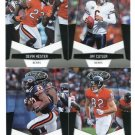 (4) Chicago BEARS 2010 Panini Leaf Certified Team Lot NO DUPES