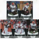 (5) Cleveland BROWNS 2010 Panini Leaf Certified Team Lot NO DUPES