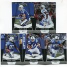 (5) Indianapolis COLTS 2010 Panini Leaf Certified Team Lot NO DUPES